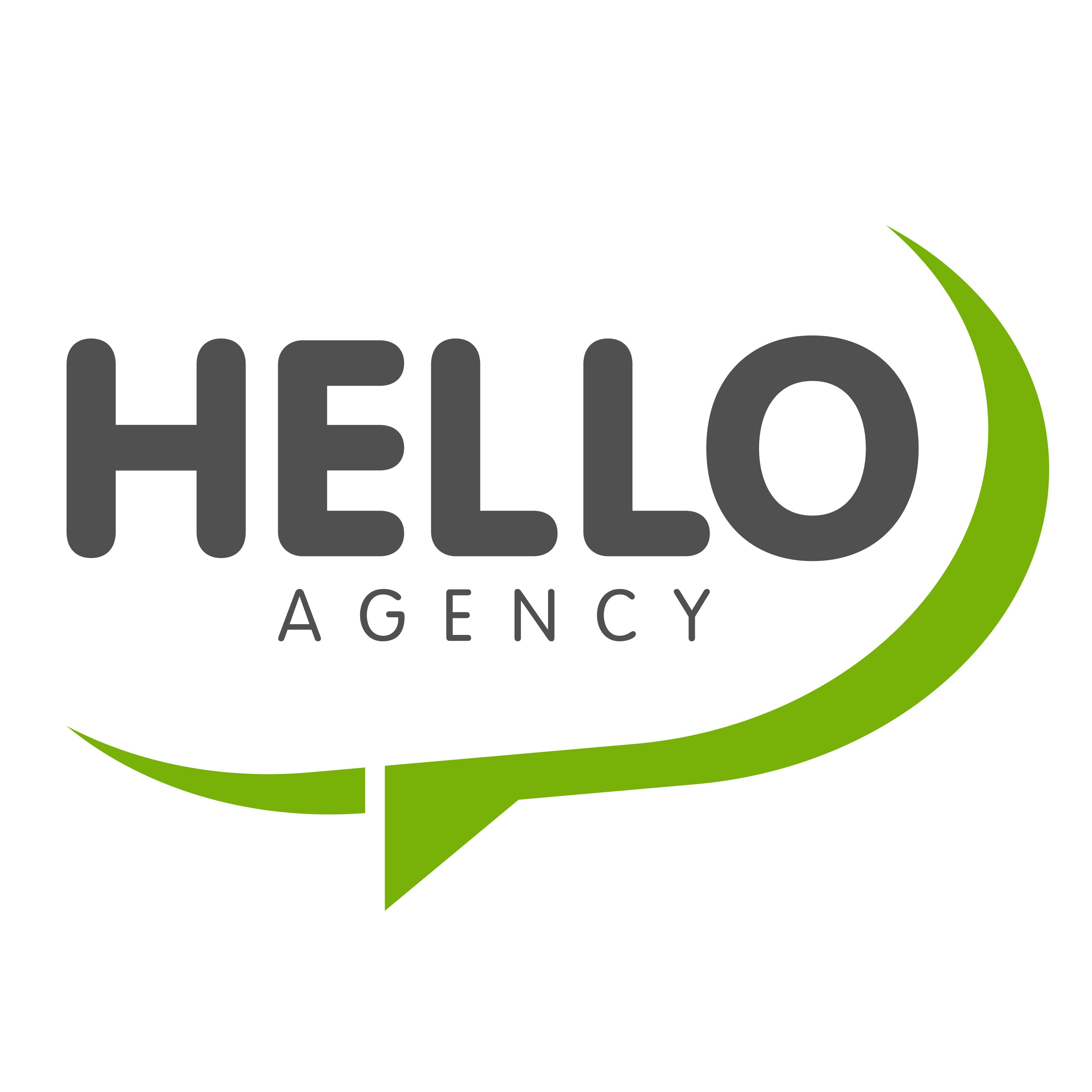 logo: Hello Agency