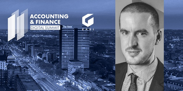 Damien Goossens de EASI, Keynote Speaker de l'Accounting & Finance Digital Summit