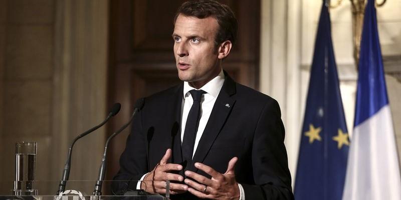 Les géants de la tech reçus par Macron