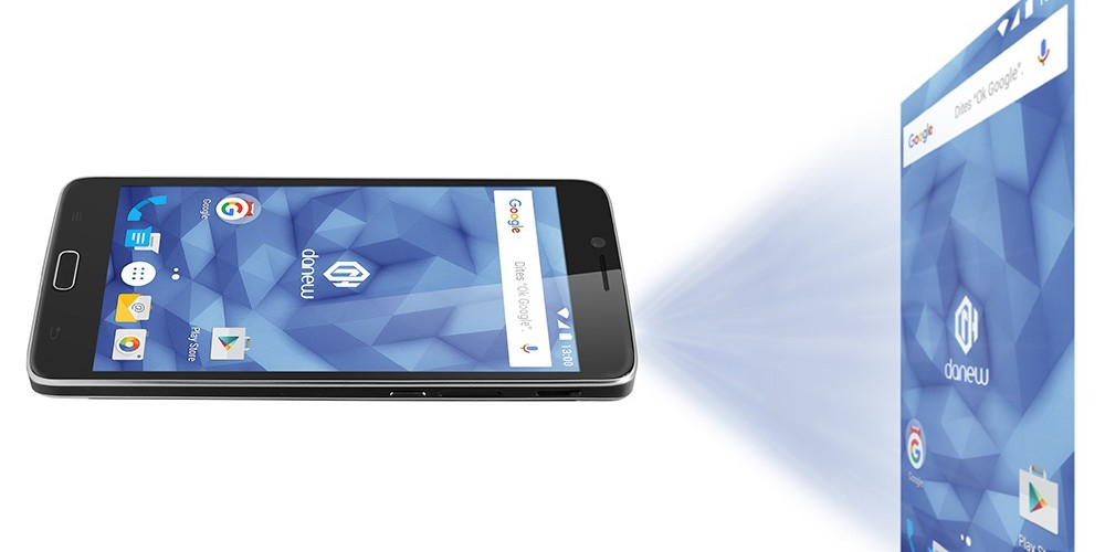Een smartphone die het groot ziet!