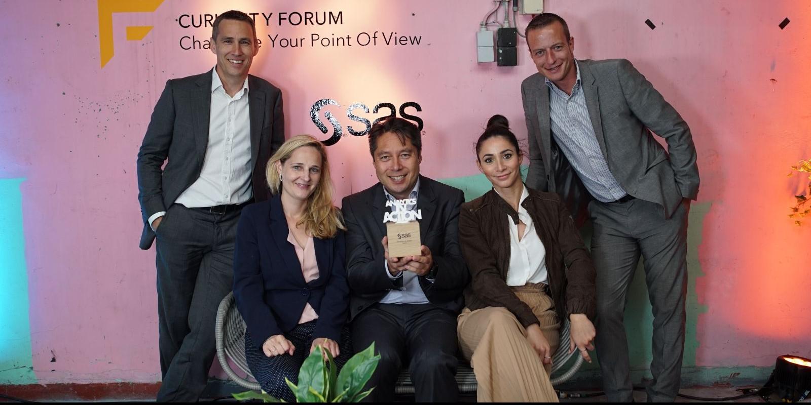 LACO krijgt de SAS BeLux Partner Award