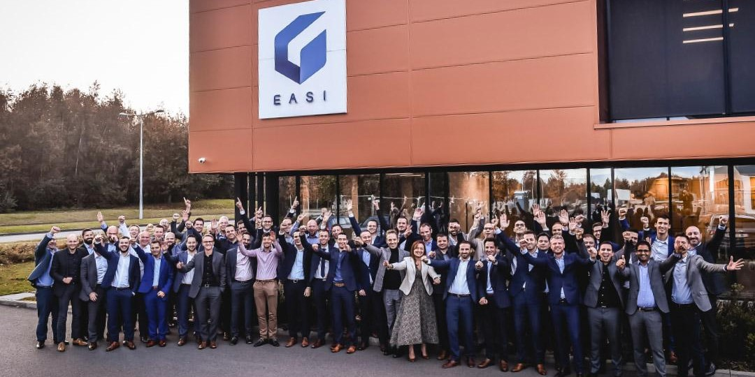 La société informatique belge EASI classée parmi les meilleurs employeurs d\'Europe