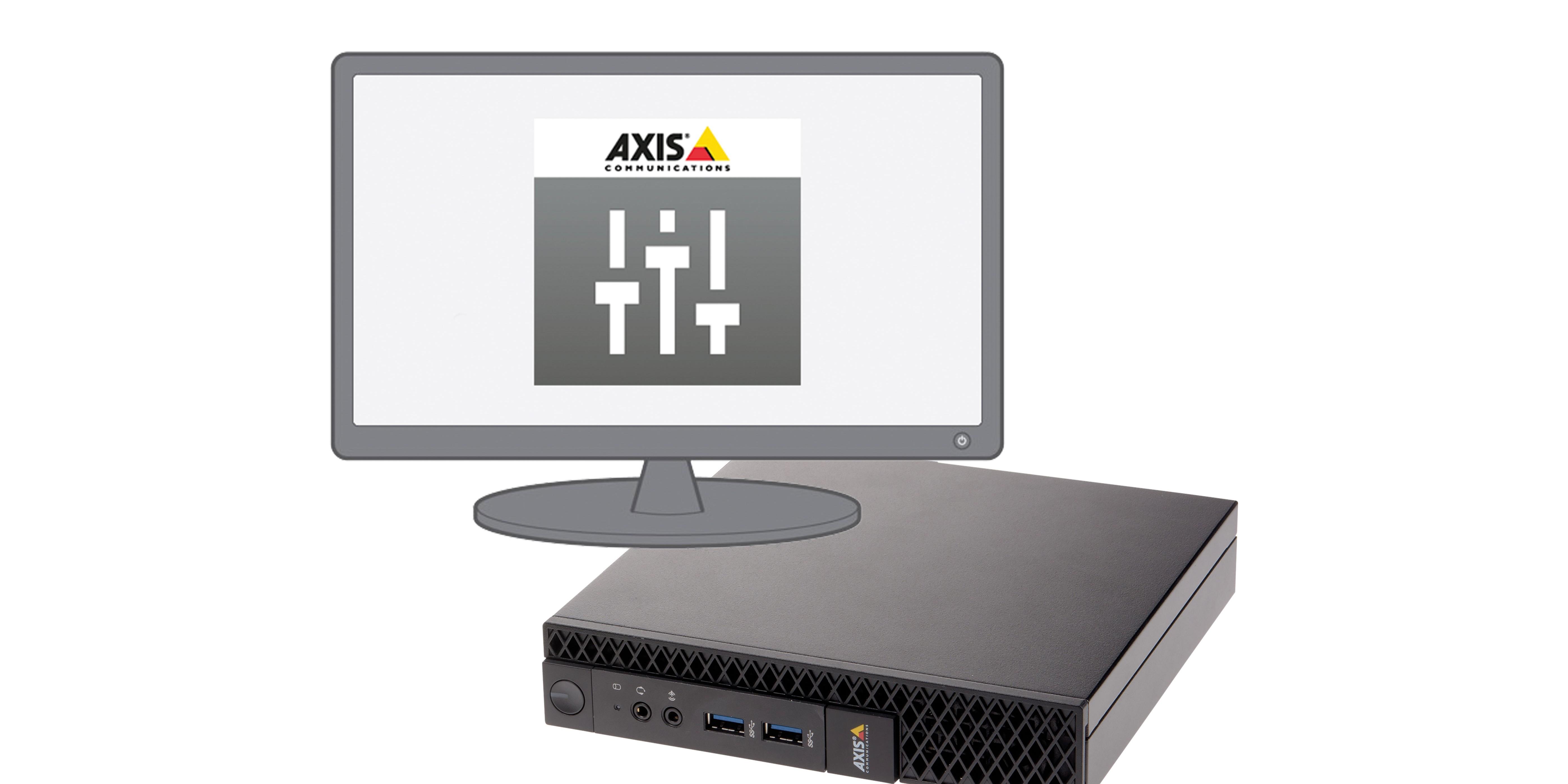 Prenez le contrôle de l'audio sur IP et capitalisez sur tous ses avantages grâce au serveur AXIS Audio Manager C7050