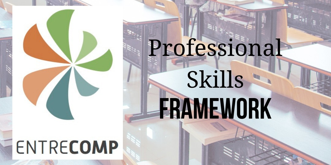 Learn all about the EntreCompEdu Professional Skills Framework