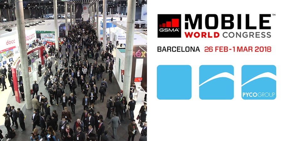 PYCO Group au Mobile World Congress à Barcelone