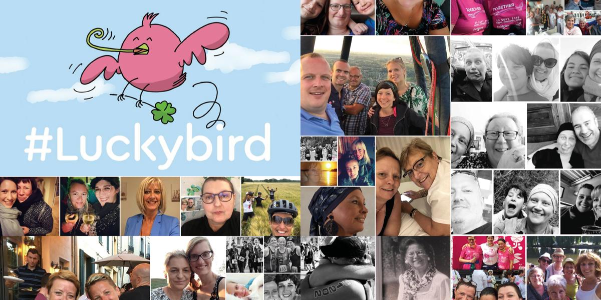 Les médias sociaux envahis par les LuckyBirds