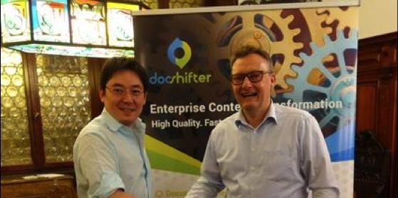 Nouveau partenariat entre la startup DocShifter et eSA