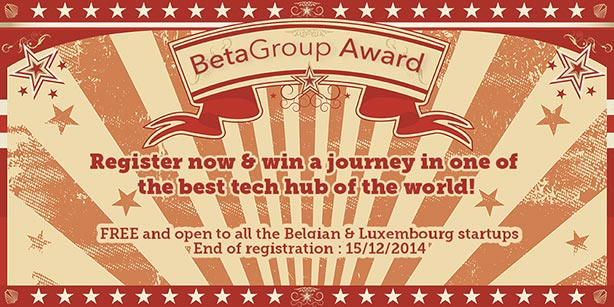 De BetaGroup Award beloont de meest innovatieve start-up