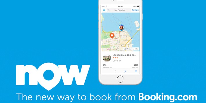 Booking.com d�voile sa strat�gie mobile avec Booking Now, une app de r�servation imm�diate