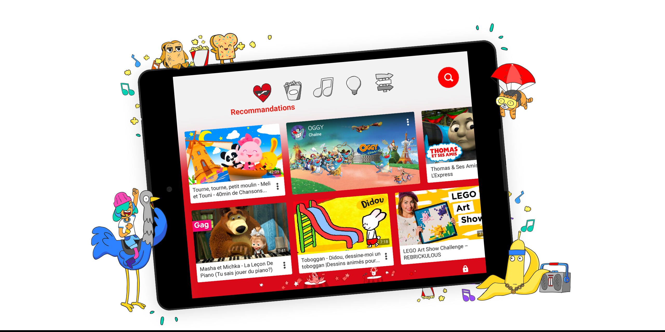 YouTube Kids arrive en Belgique