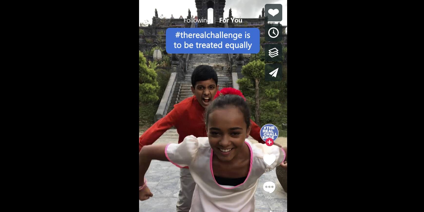 Photo of Kinderrechtencampagne van Mutant op TikTok is al 280 miljoen keer bekeken