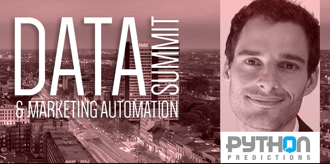 Python Predictions sponsor Data & Marketing Automation Summit van 23 november