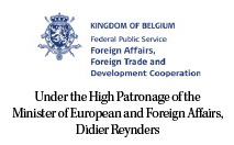 Under the High Patronage of the Minister of European and For