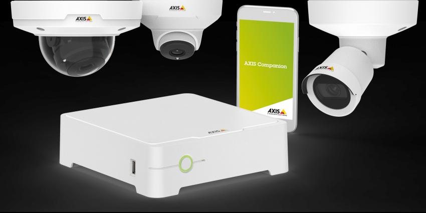Nieuwe AXIS Companion-software met realtime notificaties en systeembeheer op afstand