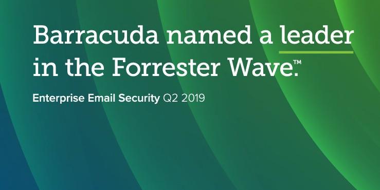 Barracuda bekroond tot kampioen in de beveiliging van e-mails in het bedrijf