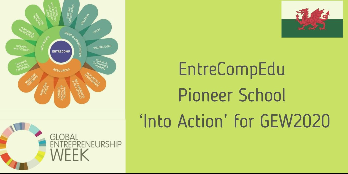 EntreCompEdu Pioneer School 'Into Action' for GEW2020