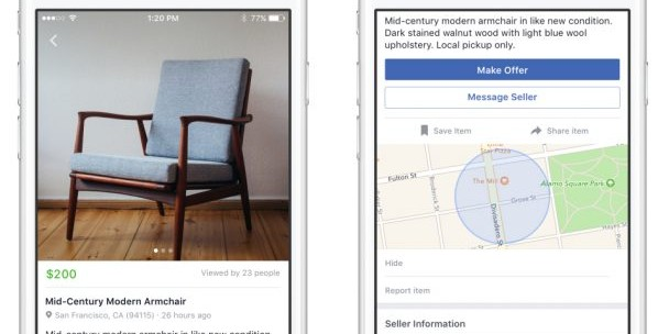 Photo of Facebook lance une plate-forme concurrente d'eBay