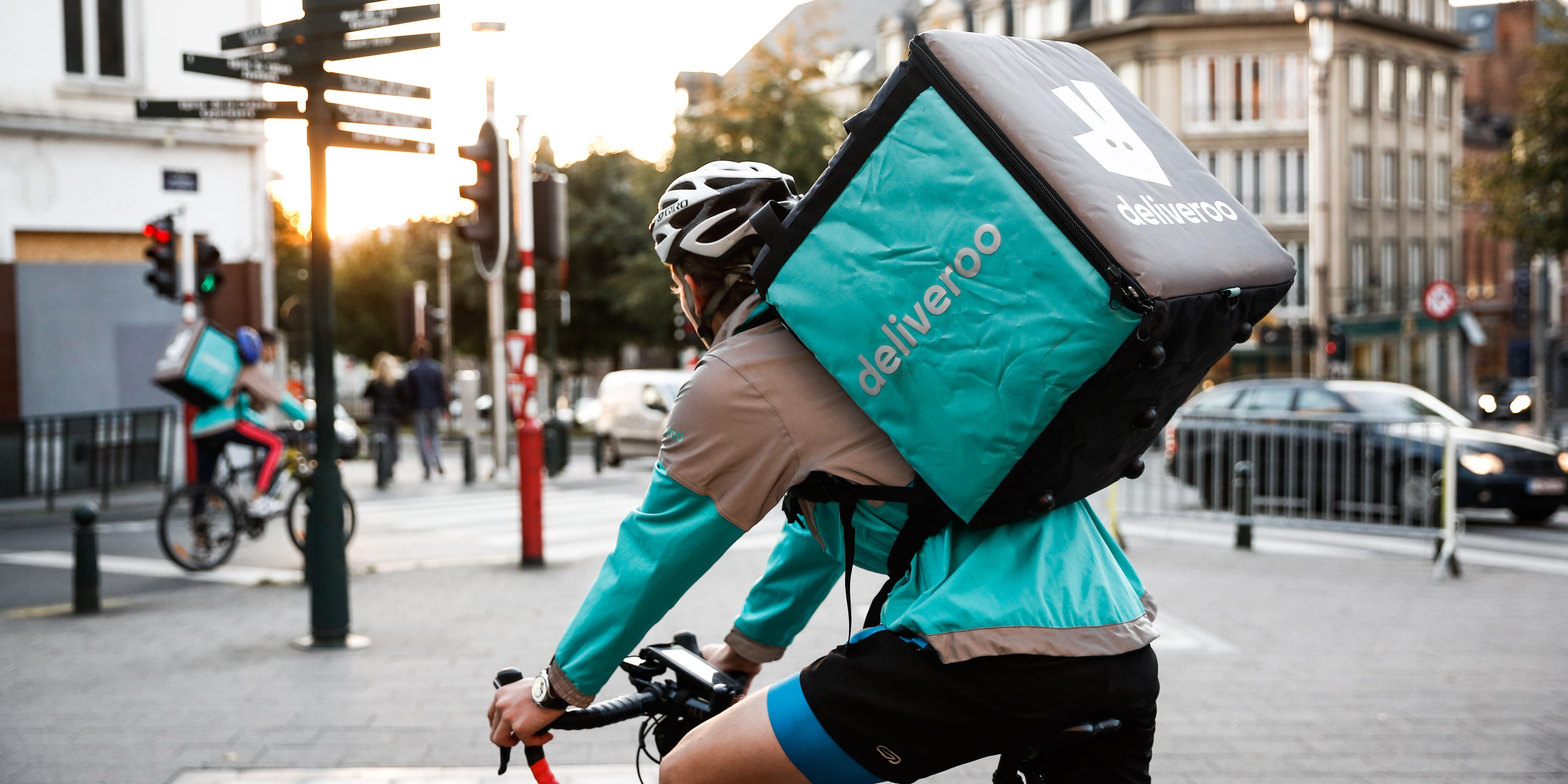 Photo of Deliveroo reconnue en tant que plateforme de l'économie collaborative