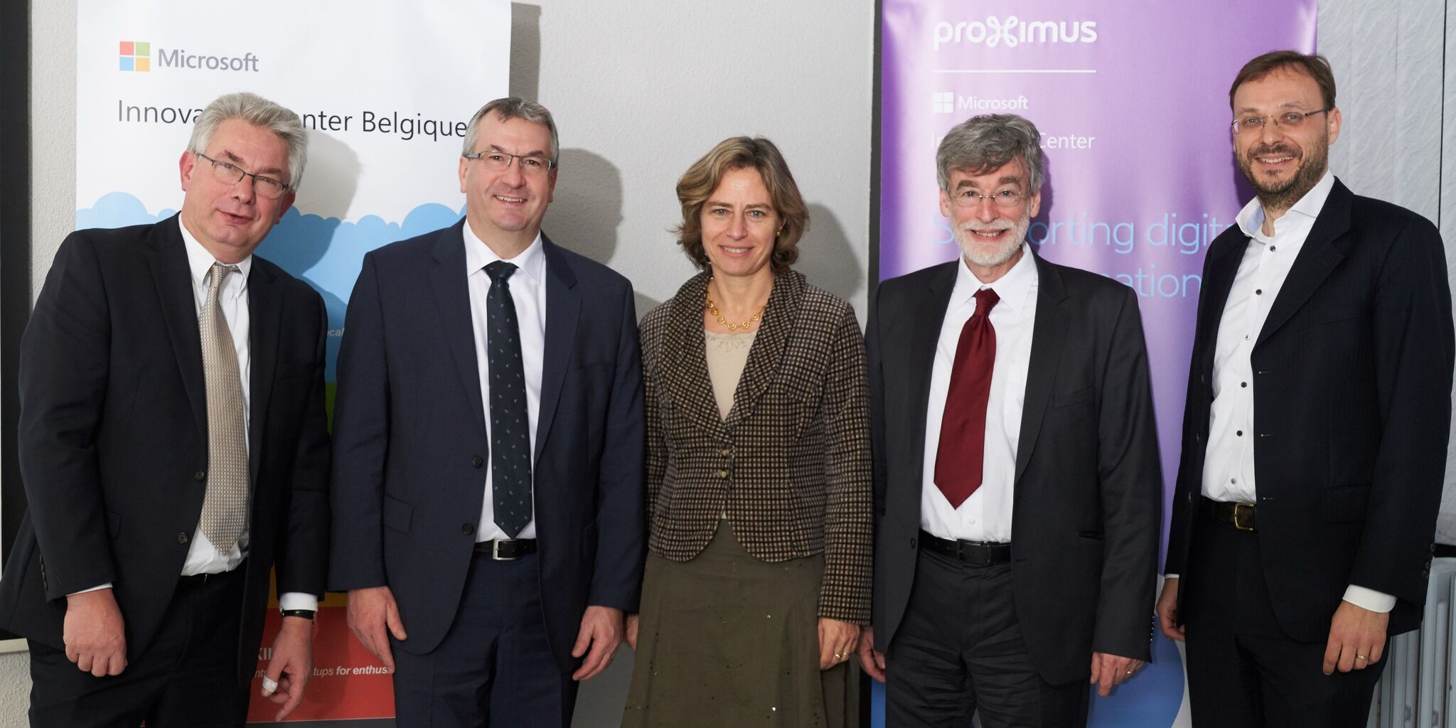 Microsoft et Proximus s'allient pour doper l'innovation en Wallonie