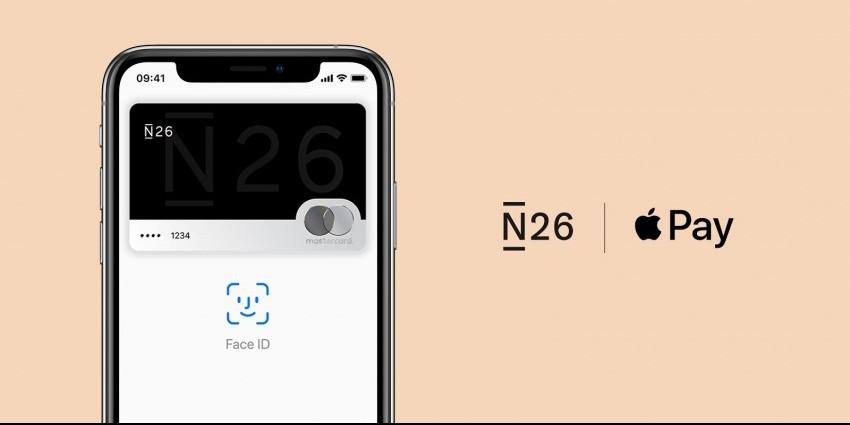 Photo of Apple Pay beschikbaar bij N26 België