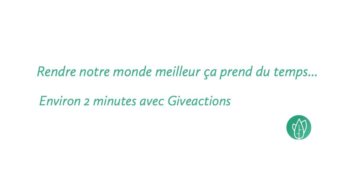 Des dons gratuits avec la startup bruxelloise GiveActions