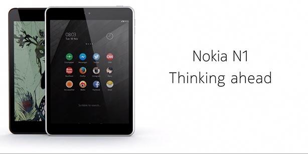 Nokia opnieuw aan de slag met een Android tablet