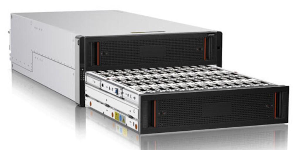 Lenovo s'attaque au marché du stockage évolutif et intelligent