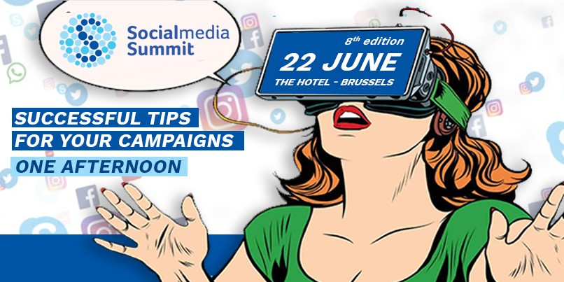 Kom alles te weten over de Social Media Summit!