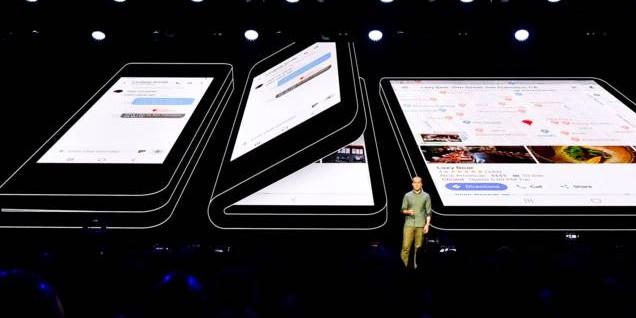 Samsung stelt de smartphone van morgen voor