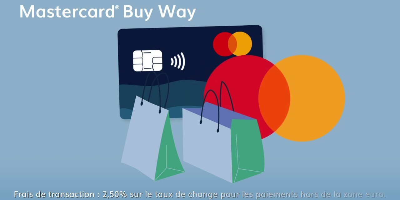 Apple Pay disponible pour les clients Mastercard de Buy Way