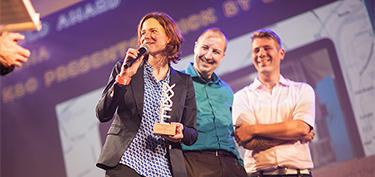 TBWA en KBC voor het tweede jaar op rij winnaar in de IAB MIXX Awards 2014