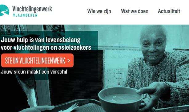 Photo of Internet Architects rajeuni le site de Vluchtelingenwerk Vlaanderen