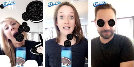 Photo of Dévorez les biscuits Oreo avec le nouveau filtre Snapchat