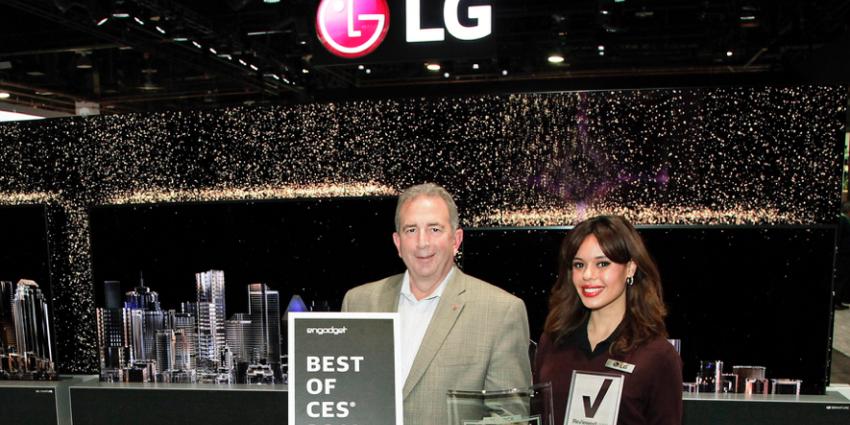 LG Electronics décroche 140 prix et distinctions au CES