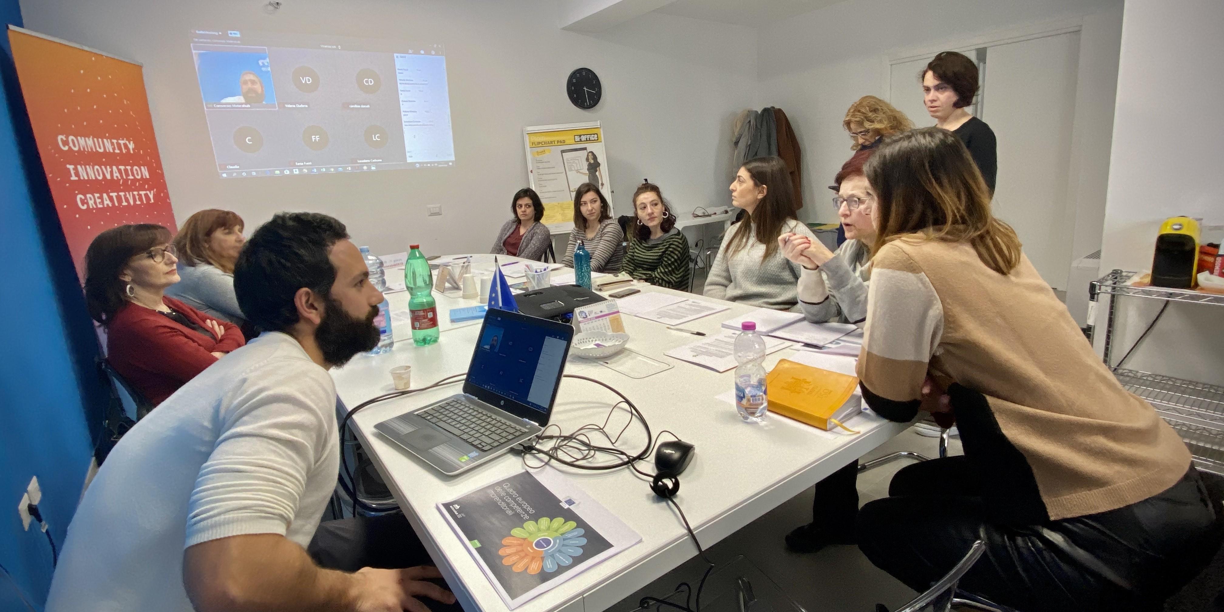 Italy's EntreCompEdu teacher training amid Covid-19