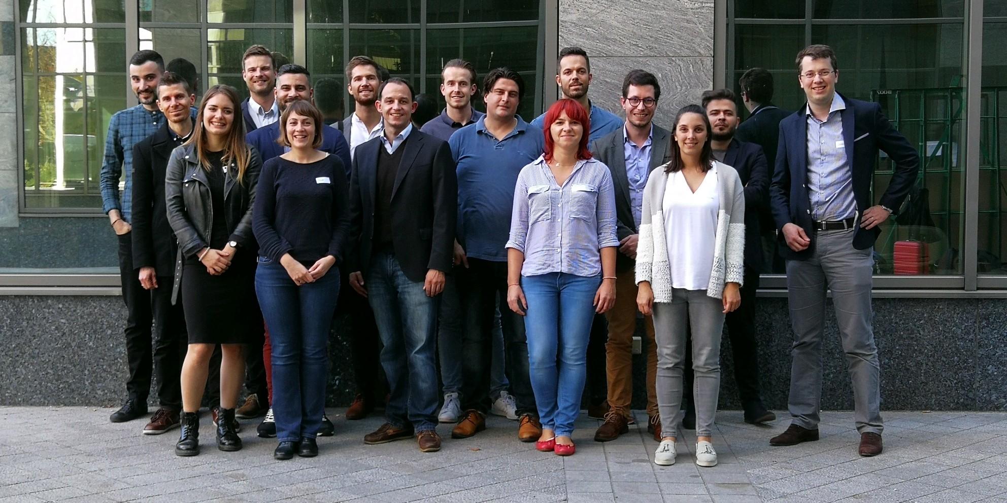 Première rencontre bruxelloise pour le réseau européen «Dall-Int».