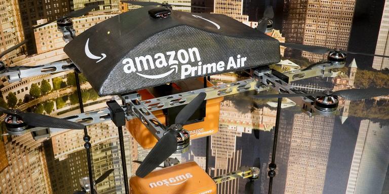 Photo of Amazon teste la livraison par drone en Belgique
