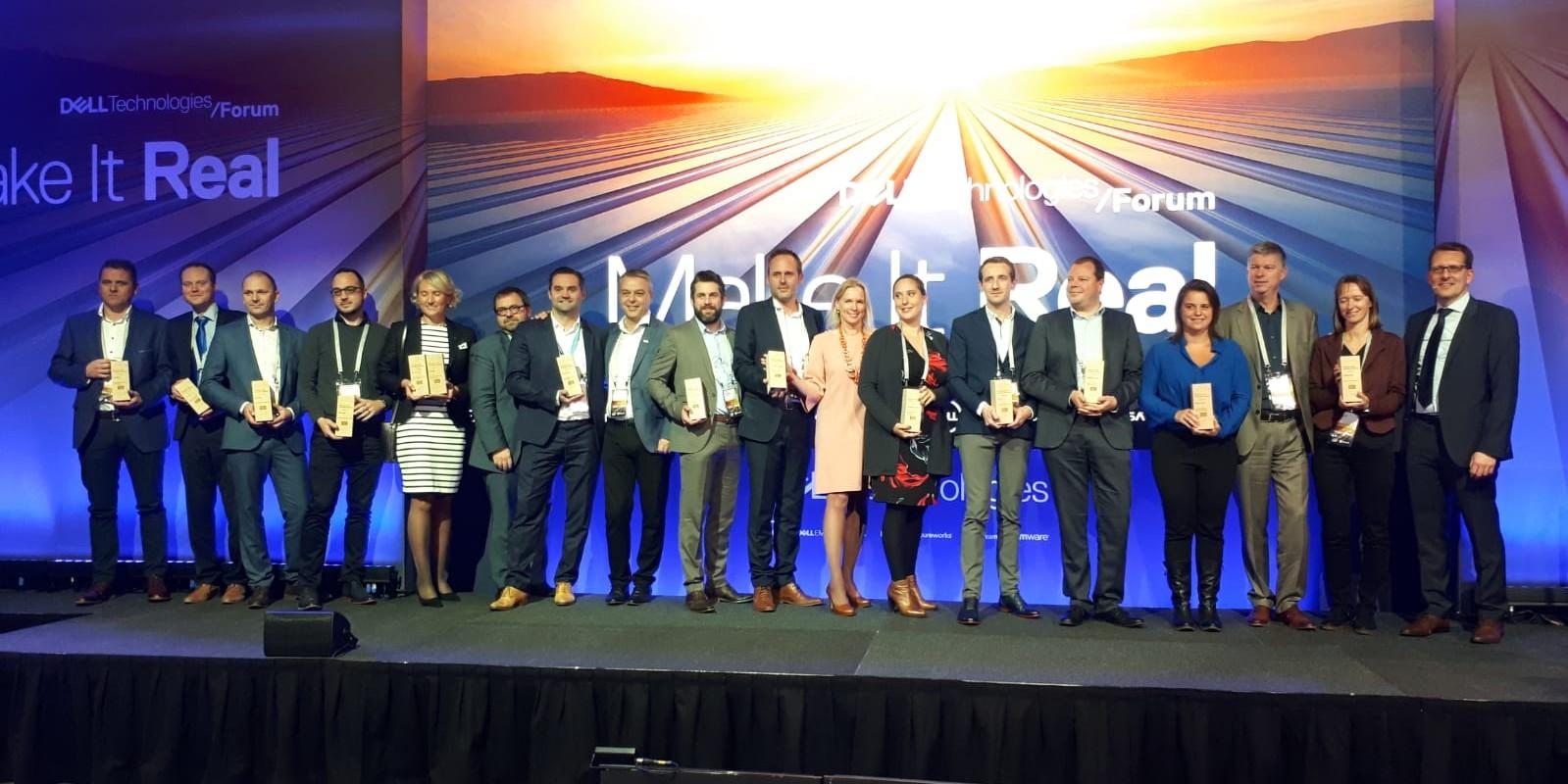 Dell EMC Belgique décerne les premiers Dell EMC Partner Awards