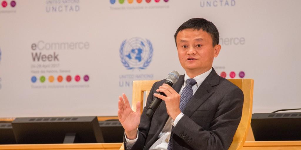 Jack Ma, co-fondateur d