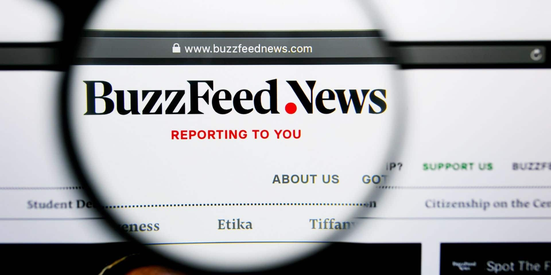Photo of Buzzfeed va reprendre le site d'information en ligne HuffPost