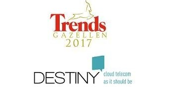 Destiny remporte le prix « Trends Gazelle du Brabant flamand »