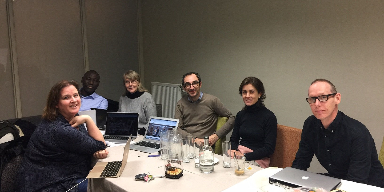 The EntreCompEdu Steering Group Met in Tervuren at the End of January