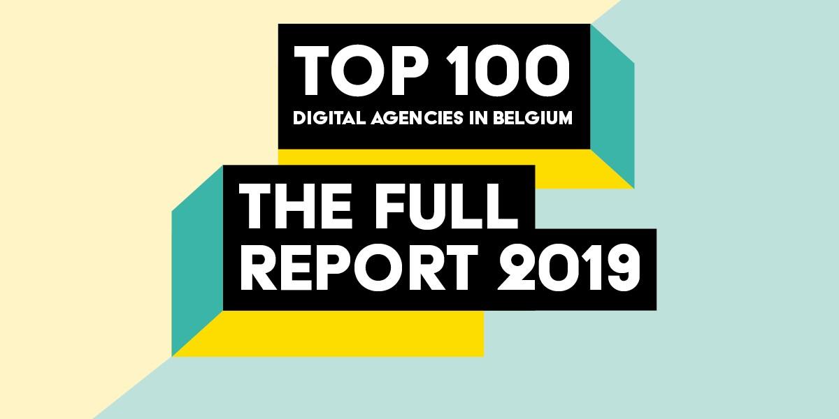Ontdek de Top 100 van de digitale agentschappen in België