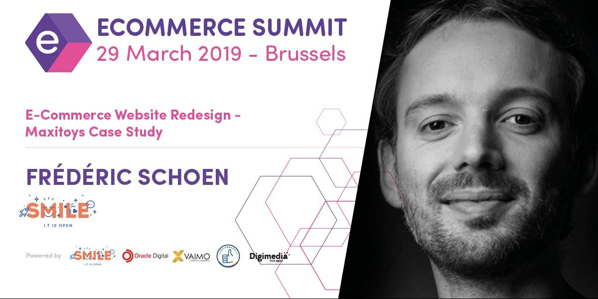 De Ecommerce Summit verwelkomt Frédéric Schoen (Smile)