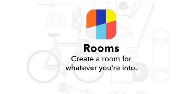 Rooms, l�application Facebook qui veut relancer les forums