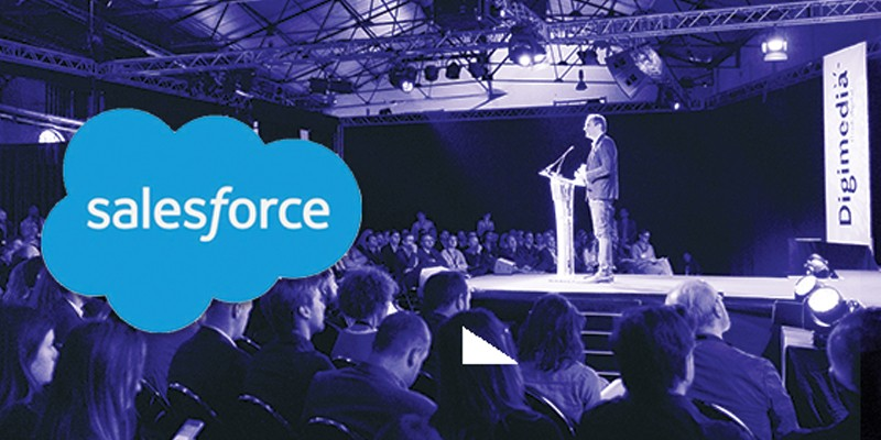 Salesforce is sponsor van de beurs Digital First