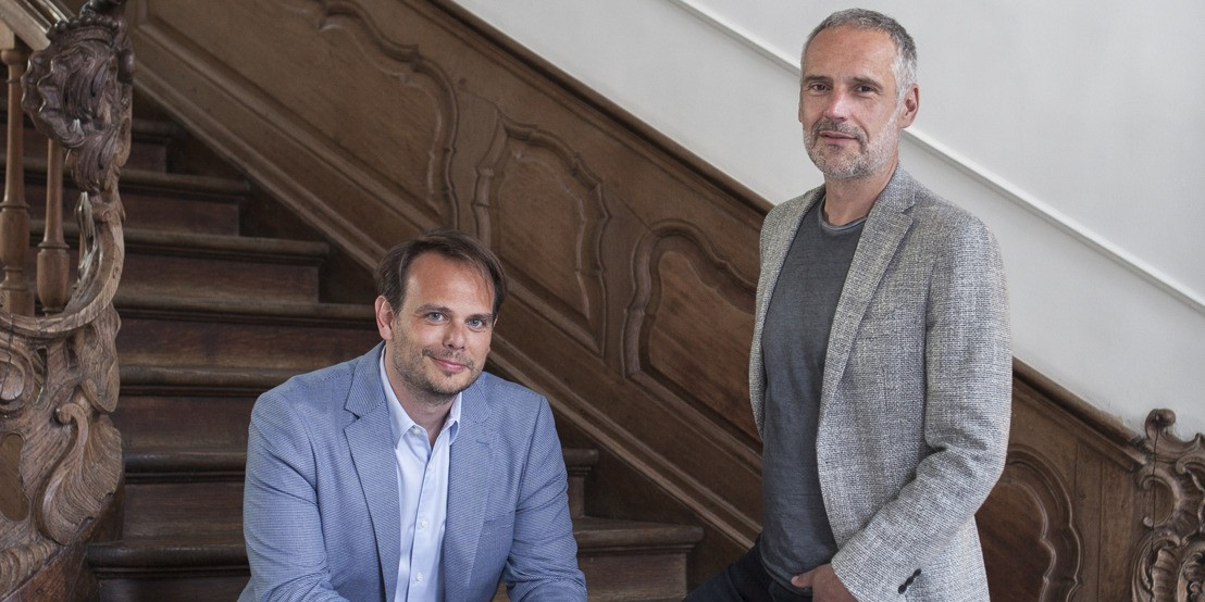 Photo of Francis Lippens et Peter Ampe à la tête de FamousGrey