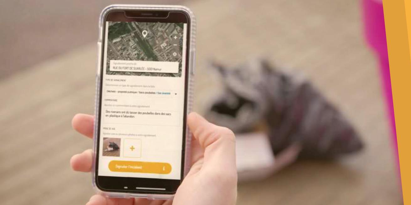Photo of L'app FixMyStreet débarque en Wallonie