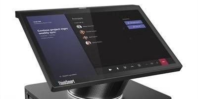 La nouvelle solution de collaboration ThinkSmart Hub de Lenovo™ permet d'adopter un modèle de travail hybride