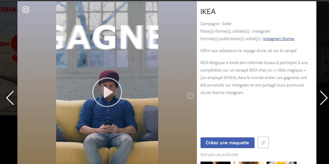 Photo of IKEA et Secondfloor sélectionnés par Facebook pour figurer parmi ses « best cases practice »